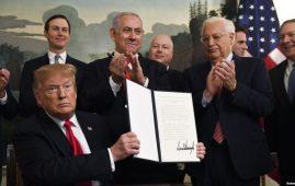 Donald Trump dhe Benjamin Netanyahu